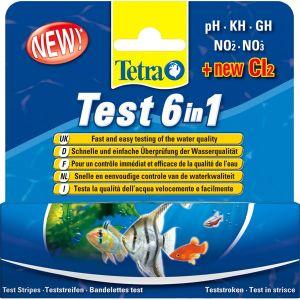 Tetra Bandelettes de test Test 6en1