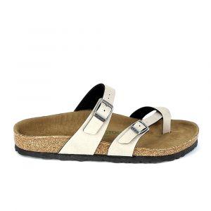 Birkenstock Sandales Mayari Gris Gris - Taille 36,37,38,39,41,35