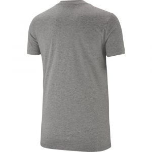 Nike Essential Icon Futura T-shirt Femmes gris chiné T. M