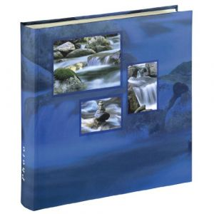 "Hama Album photo Jumbo ""Singo"", 30x30 cm, 100 pages blanches, Aqua"