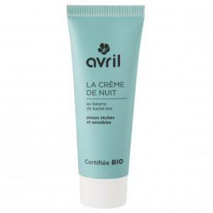 Avril La crème de nuit peaux sèches et sensibles Certifiée Bio