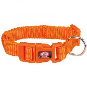 Trixie Premium collier - XXS-XS: 15-25 cm/10 mm, papaye