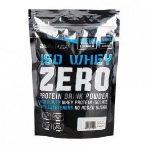 Biotech USA Iso Whey Zero 500 g Strawberry