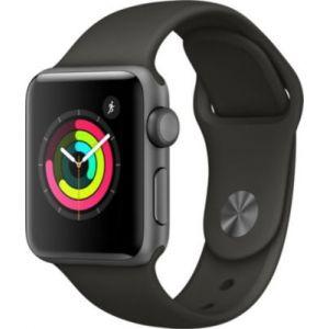 Apple Watch 38mm Series 3 (GPS) - Boîtier Alu Bracelet Sport
