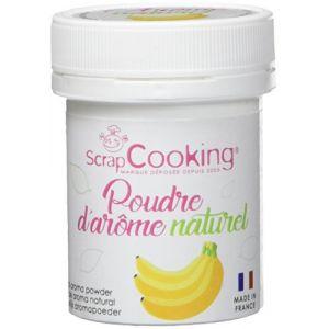 Scrapcooking Pot de poudre d'arôme naturel 15g - banane