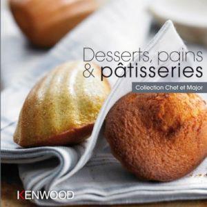 Kenwood Livre de cuisine Desserts, pains & pâtisseries
