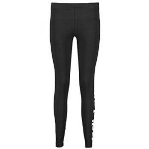 Adidas Yg E Lin Tght Pantalons de Compression Femme, Noir/Blanc, FR : L (Taille Fabricant : 140)