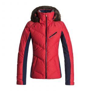 Roxy Snowstorm - Veste de snow pour Femme - Rouge