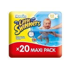 Huggies Little Swimmers taille 2/3 (3-8 kg) - 20 couches de bain