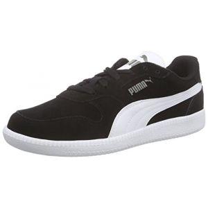 Puma Icra Trainer SD Jr, Sneakers Basses Mixte Enfant, Noir (Black-White), 37 EU