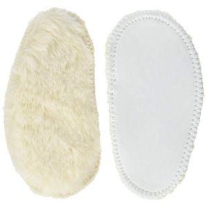 Robeez INFUR, Chaussures de Naissance Mixte bébé, (Blanc Cassé 31), 23/24 EU