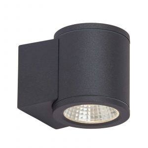 AEG Appliques d'extérieur ARGO-Applique d'extérieur LED Aluminium & Verre H9.5cm Gris