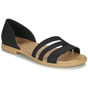 Crocs Sandales TULUM OPEN FLAT W Noir - Taille 36 / 37,38 / 39,42 / 43,37 / 38,39 / 40,41 / 42