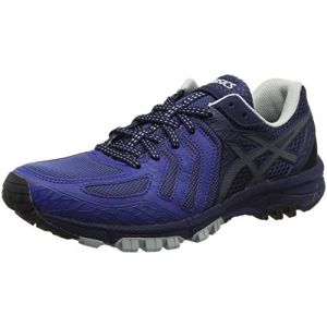 Asics Gel-FujiAttack 5, Chaussures de Trail Homme, Bleu (Limoges/Black/Peacoat 4990), 40 EU