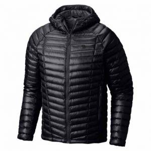 Mountain hardwear Vestes Mountain-hardwear Ghost Whisperer Hooded Down - Black - Taille S