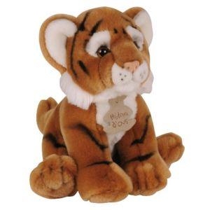 Histoire d'ours Peluche Les Authentiques : Tigre 20 cm