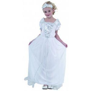 Déguisement de princesse robe blanche