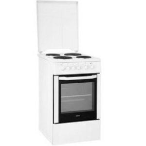 Beko CSS56000GW - Cuisinière tout électrique 4 plaques