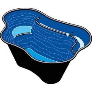 Ubbink 1060349 - Bassin préfabriqué Calmus SII 220 L