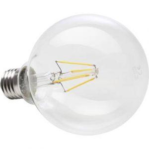 Müller-Licht 400202 A + +, rétro lampe LED Mini Globe remplace 75 W, verre, 8 W, E27, Blanc, 9,5 x 9,5 x 14 cm ( Occasion )