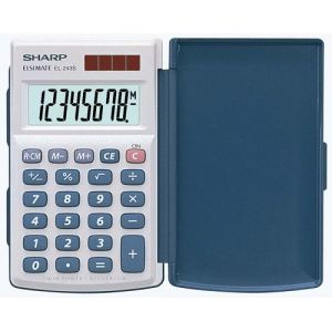 Sharp EL-243S - Calculatrice de poche