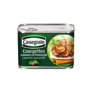 Cassegrain Courgettes cuisinées provençale 1/2