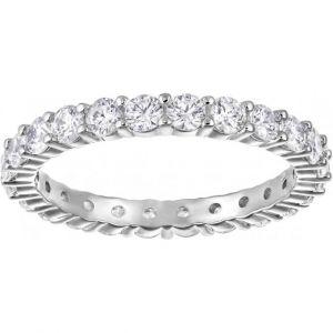 Swarovski Bague Classic Jewelry VITTORE-XL-CZWH-RHS - Bague Acier Sertie Femme