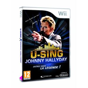 U-Sing Johnny Hallyday - kit jeu + 1 micro [Wii]