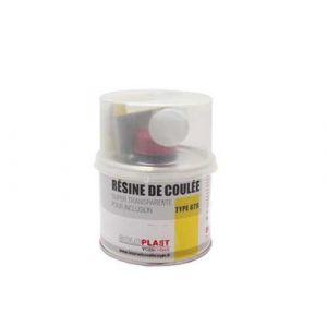 Soloplast Résine GTS pour inclusion 500g avec catalyseur