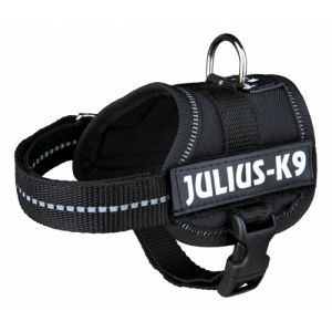 Julius K9 Harnais Baby 1 Noir Xs pour Chien 30/40cm