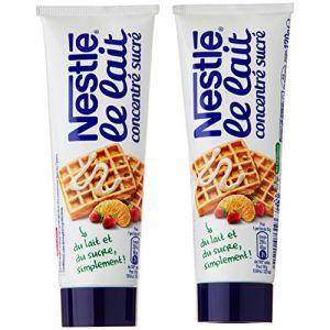Nestlé Lait concentré, sucré - Les 2 tubes, 340g