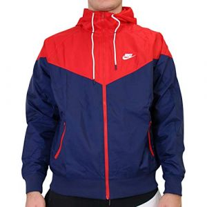 Nike Veste coupe-vent Windrunner Bleu/Rouge - Taille L;M;S;XL;XXL