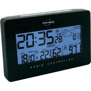 Inovalley RV10N - Radio réveil avec prévision météo
