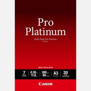 Canon 20 feuilles papier photo Platinum 300g/m² (A3)