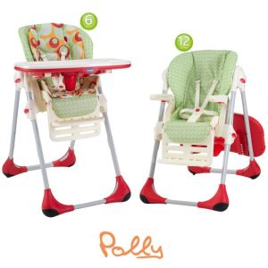 Chicco Chaise haute Polly 2 en 1 (2013)