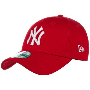 A New Era Casquette 9Forty League Basic New York Yankees - Rouge/Blanc