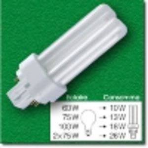Osram DULUX D/E 26W 840 Blanc froid - 4-Pins - Tube fluorescent