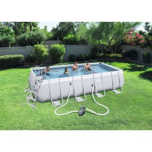 Bestway Kit piscine rectangulaire Steel Pro Frame Pools 14812 Litres