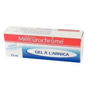 Mercurochrome Gel à L'Arnica apaisant - Tube de 75 ml