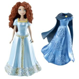 Mattel Mini poupée Princesse Merida - Rebelle