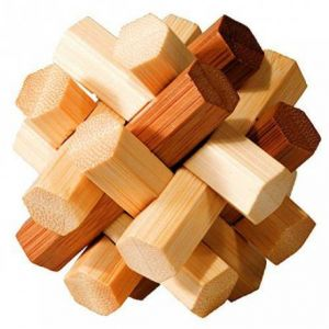 Edition fridolin Casse-tête bambou Imbroglio