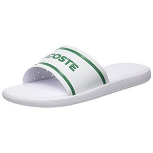 bcced3f37a Lacoste L,30 Slide 118 2 Cam, Tongs Hommes, Blanc (WHT/GRN), 40,5 EU ...