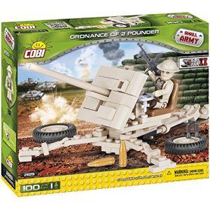 Cobi Jeux de construction - Ordnance qf 2 pounder