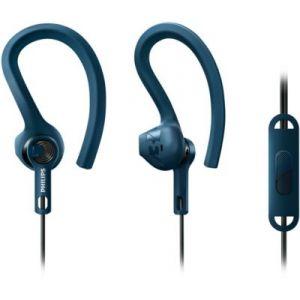 Philips SHQ1405BL/00 - Écouteurs tour d'oreille sport