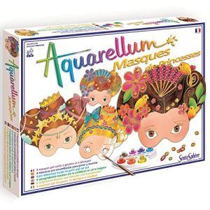 Sentosphère Aquarellum : Masques princesses