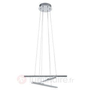 Eglo 93572 - Suspension Terros en métal chromé 3 lumières
