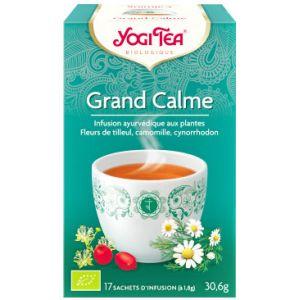 Yogi Tea Infusion grand calme - Boîte de 17 sachets