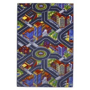 Associated weavers kids corner Grande ville - Tapis de jeu (100 x 165 cm)