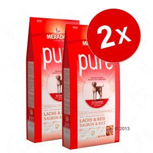 Mera Dog Pure - Nourriture pour chien Saumon / Riz 12.5 kg