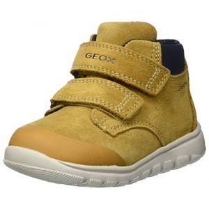 Geox B Xunday Boy A Baskets Basses bébé garçon, Jaune (DK Yellow C2006) 27 EU